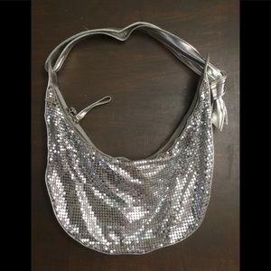 Handbags - Purse.   Cute silver sequin wallet